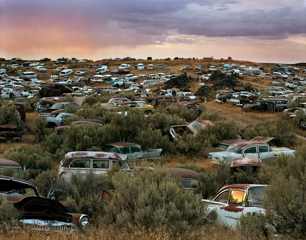 L & L Classic Auto Salvage, Gooding County, Idaho, 2015