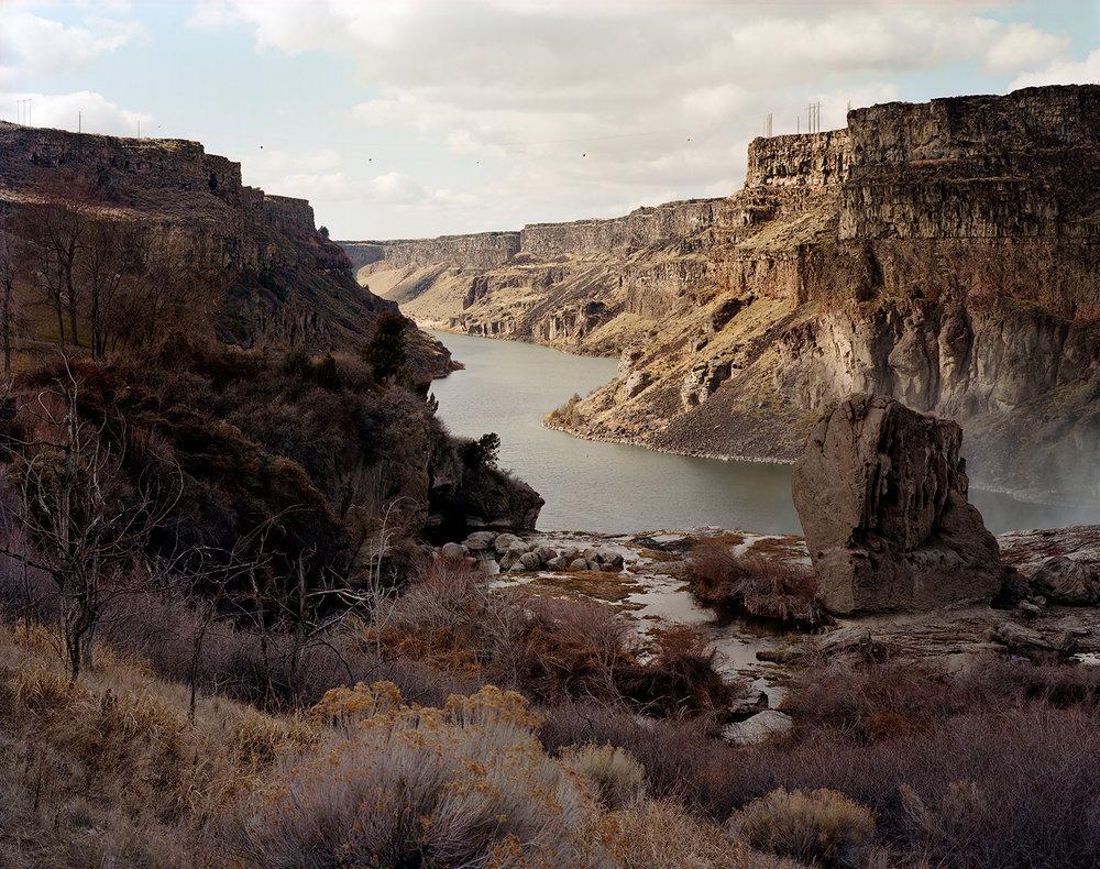 Snake River Canyon Below the Dam at Shoshone Falls, Twin Falls, Idaho, 2010