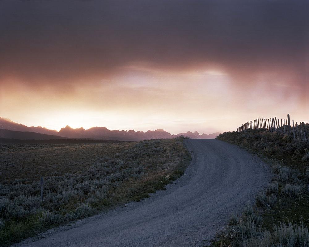 Valley Road, Custer County, Idaho, 2004
