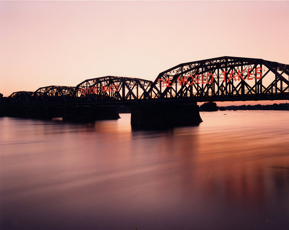 Bridge over the Delaware River, Trenton, New Jersey, 1996