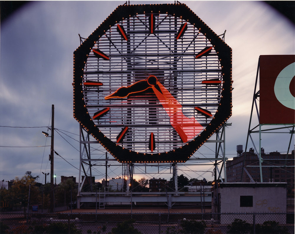 Colgate Clock, Jersey City, New Jersey, 1997