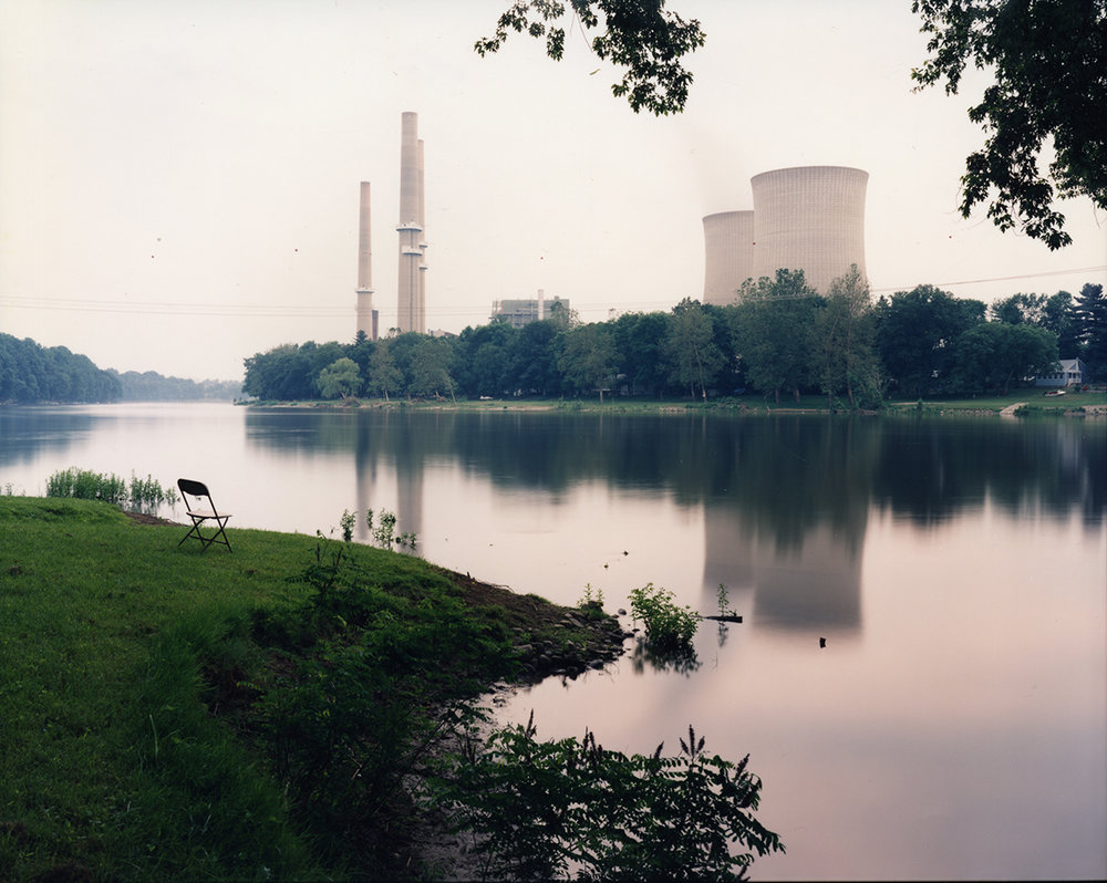 Power plant, view from Foul Rift, New Jersey, 1996