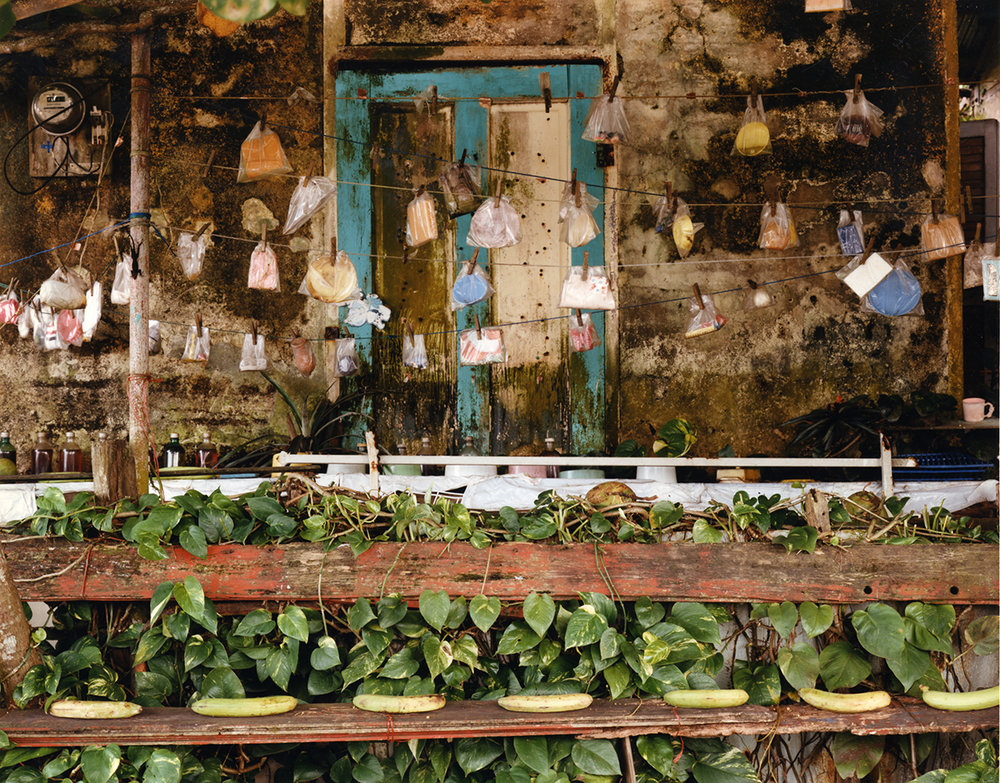 Sidewalk shop, Limon, Costa Rica, 1992
