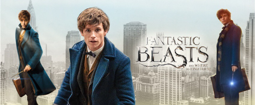 EDDIE REDMAYNE AS NEWT SCAMANDER - IN STOCK!