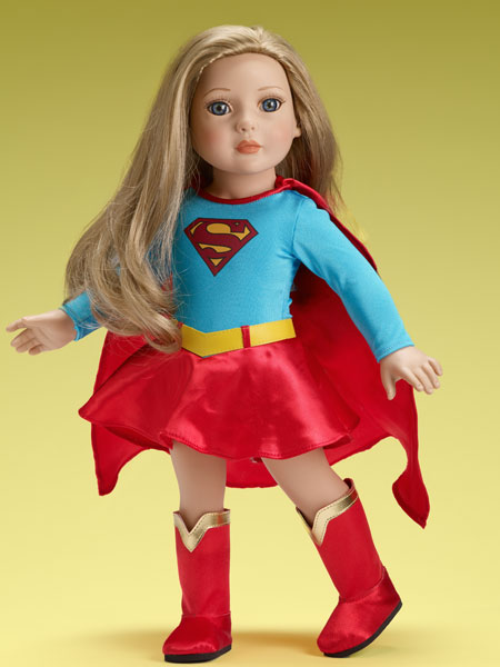 """SUPERGIRL 18"""" OUTFIT ONLY SRP $39.99 - SALE PRICE $29.99 IN STOCK! Doll and outfit sold separately."""