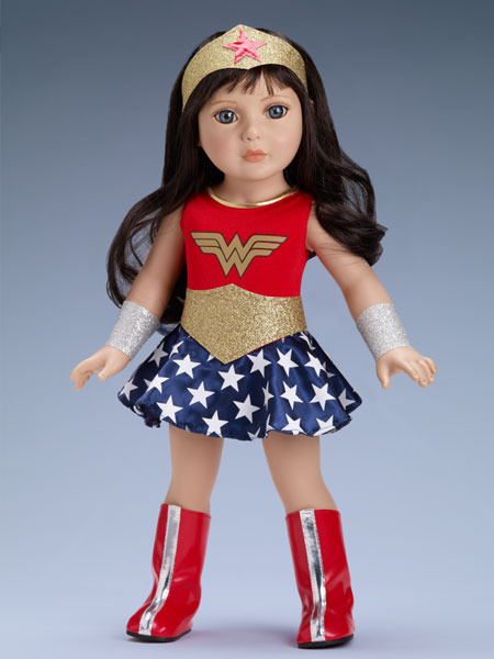"""WONDER WOMAN 18"""" OUTFIT ONLY SRP $39.99 - SALE PRICE $29.99 IN STOCK! Doll and outfit sold separately."""