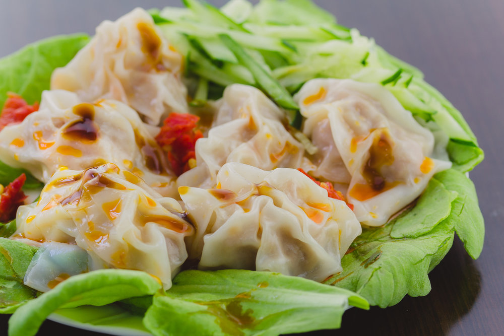 Sichuan Style Wontons