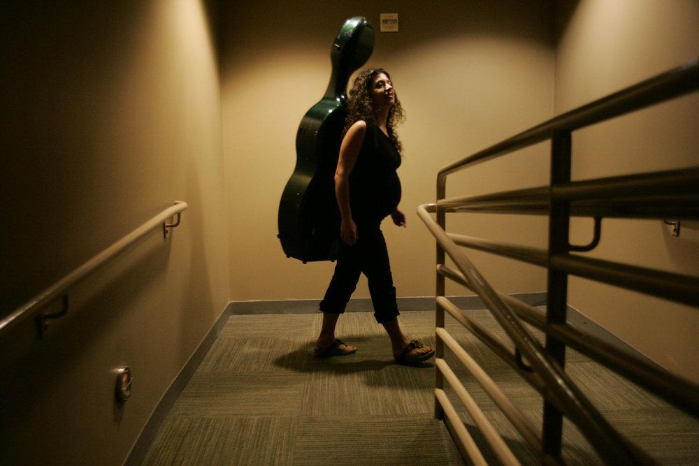 Ani, Cellist - Annie Wells, 2011, © Annie Wells