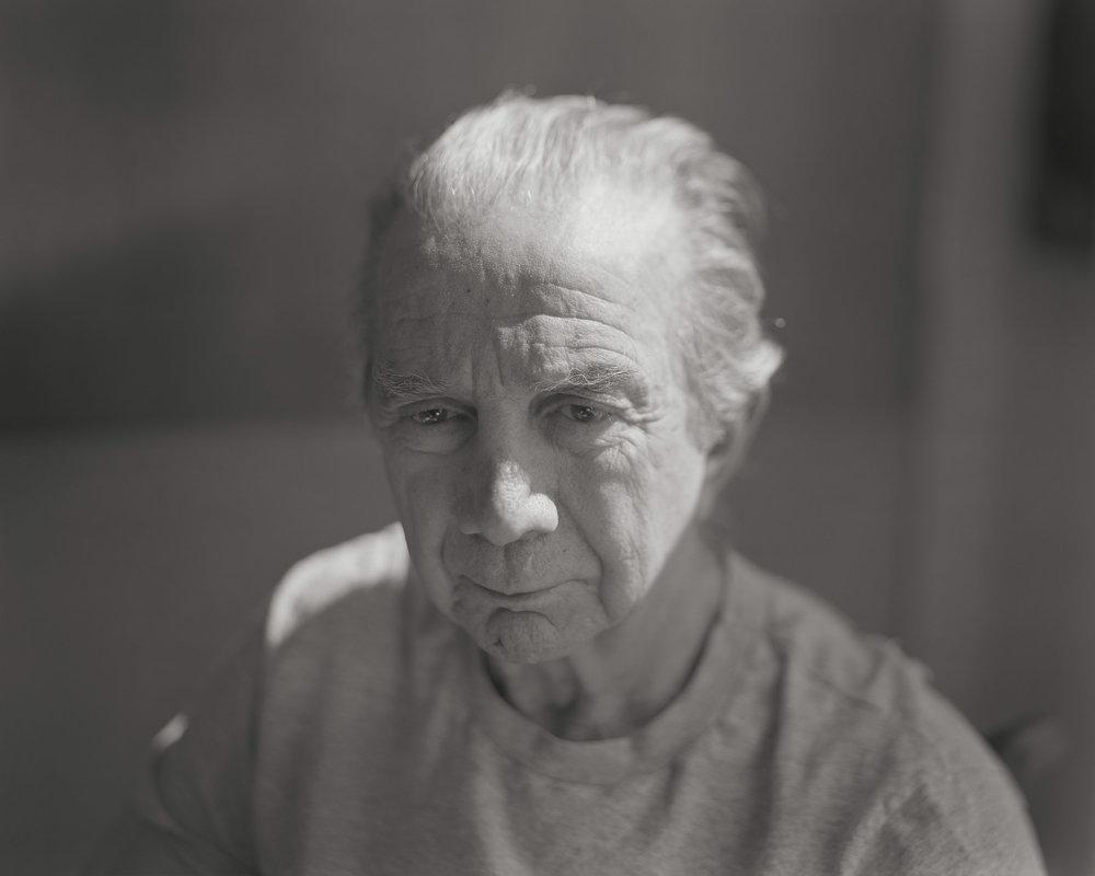 "Gene, Nursing Home - 8""x 10"" large-format, 2005, © Stephen DiRado"