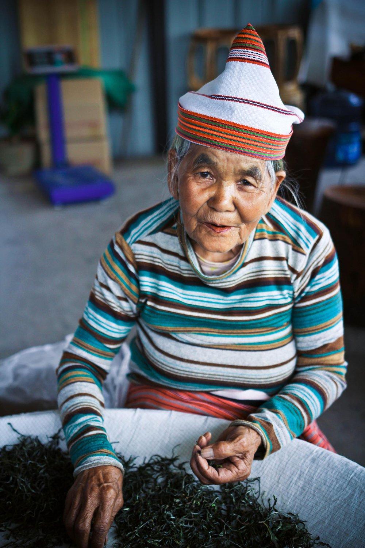 Grandma from Tea Farmers of Yunnan - Digital Photograph, 2016, © Jin Zhao