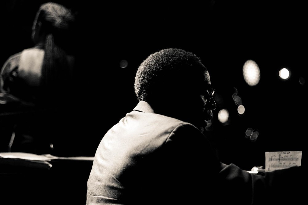 Marc Cary at the Blue Note from Unchromed: Jazz NYC - Digital Photograph, 2012, © Jin Zhao
