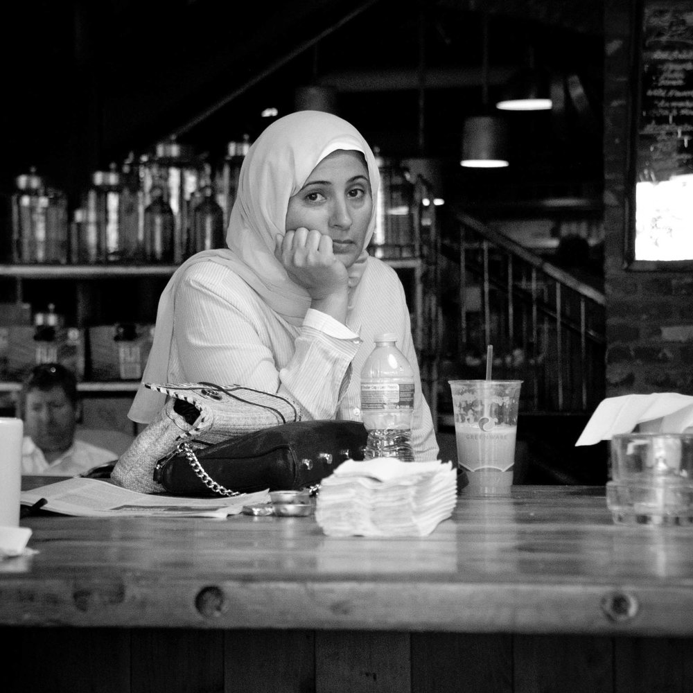 Atlantans II - Digital Photograph, 2014, © Jin Zhao