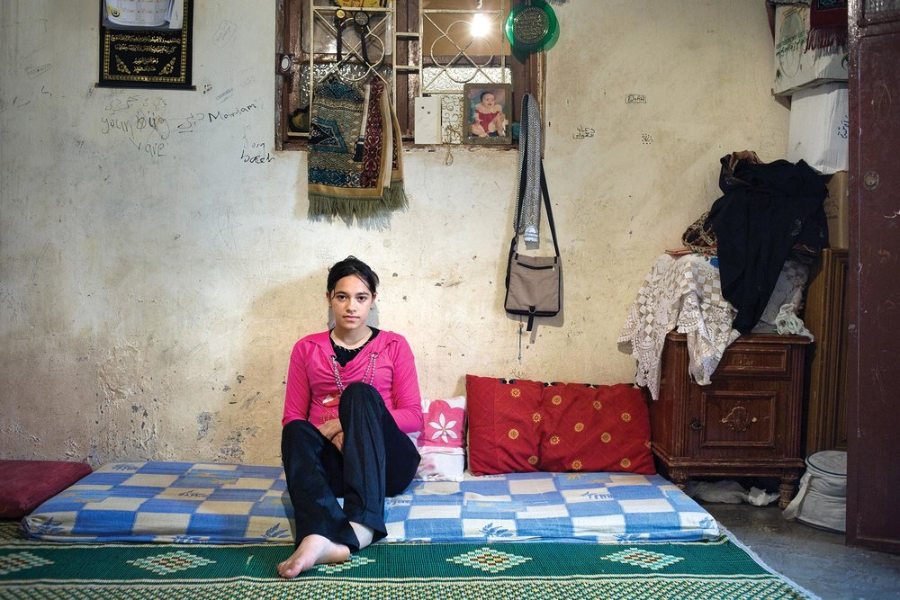 Mariam, Bourj al Shamali Palestinian Refugee Camp, Tyre Lebanon - Digital Photograph, 2009, © Rania Matar