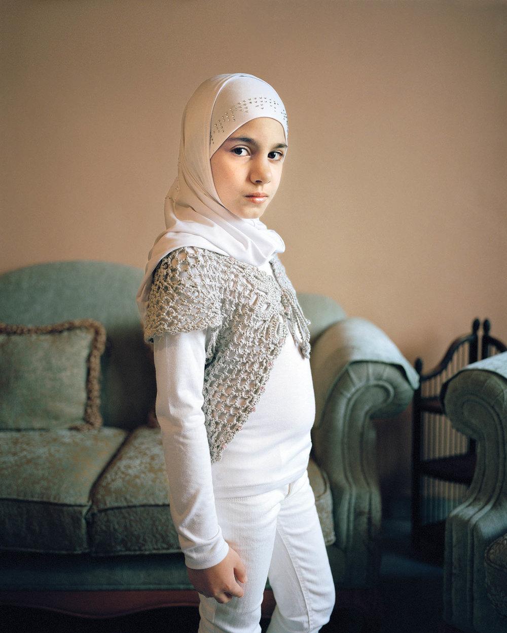 Maryam 9, Beirut Lebanon - Digital Photograph, 2011, © Rania Matar