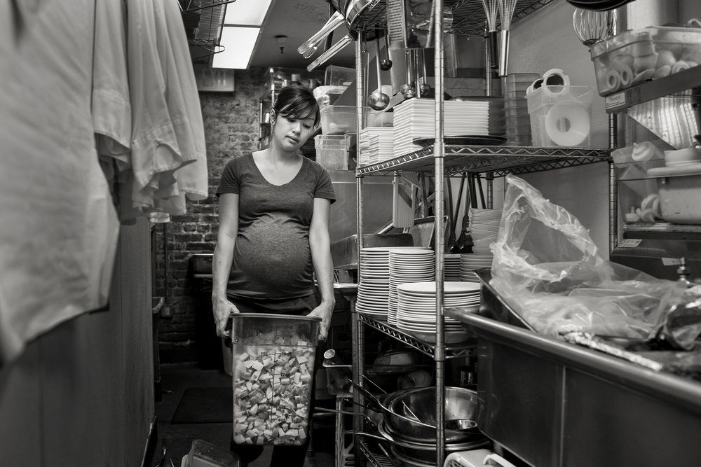TIFFANY, COOK - 35mm B&W film, 2012, © Carl Bower