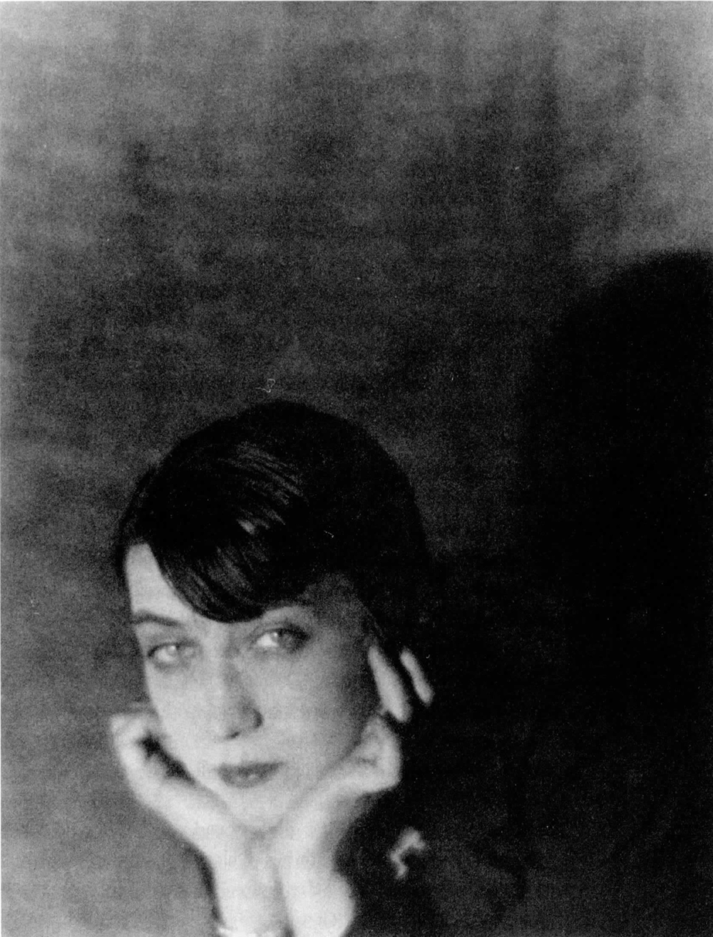 Portrait of Berenice Abbott by     Man Ray