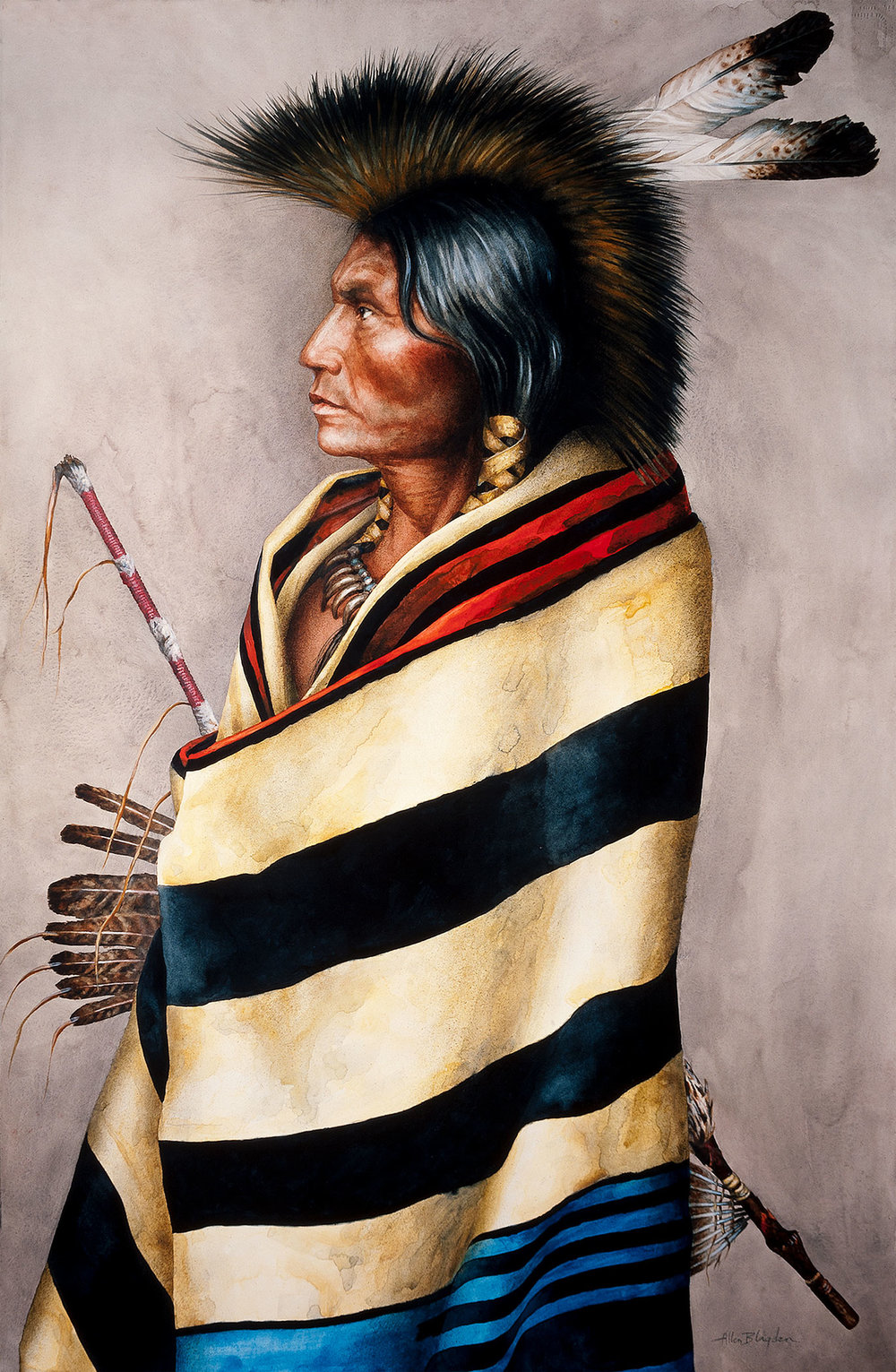 ALLEN BLAGDEN<strong> Chief's Blanket</strong>