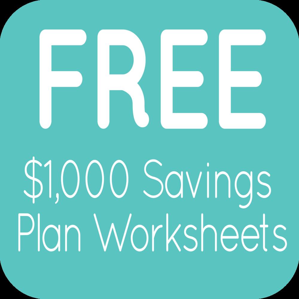 free saving 1 000 worksheets hayley fiser