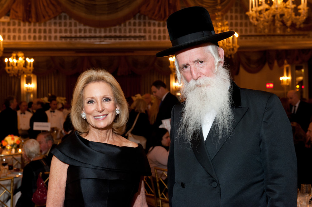 Honorees Rochelle Hirsch and Rabbi Yitzchak Dovid Grossman.jpg
