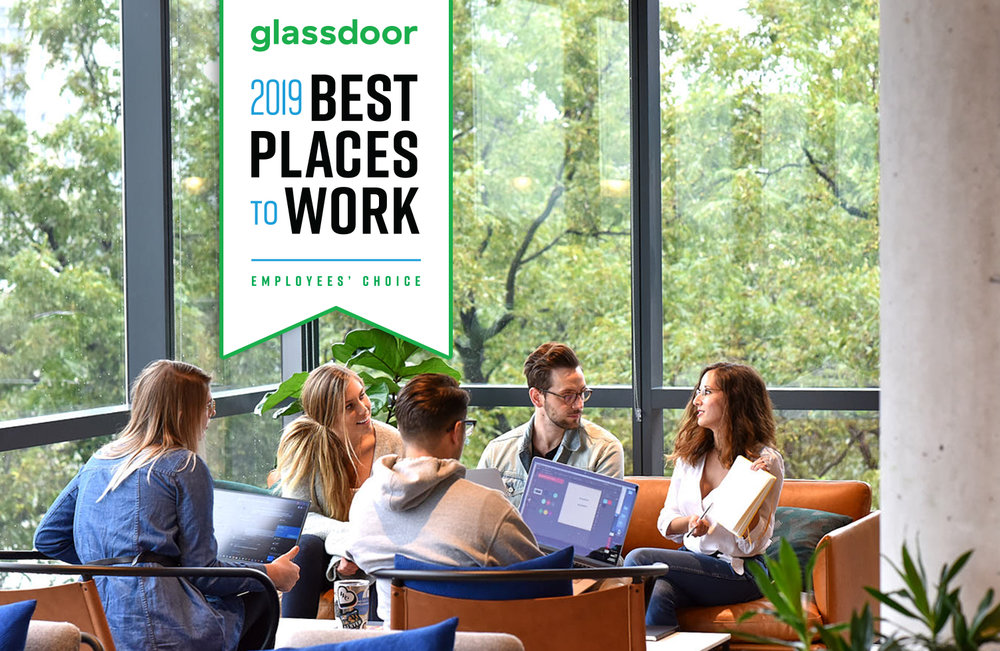 Employees' Choice - We're proud to have a spot on Glassdoor's list of Best Places to Work in 2019!
