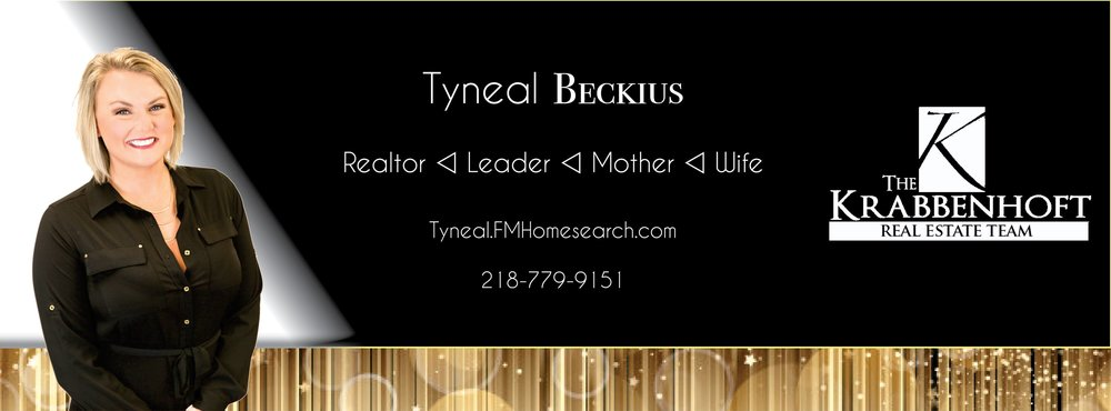 Tyneal Beckius. Realtor, wife, mother, leader, krabbenhoft real estate team. Mortgage professional, lender, first time home buyer, refinance, USDA, VA loans, Conventional, 0% down, home loan.