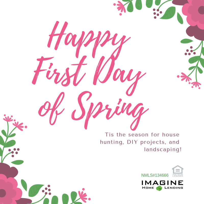 spring, home, househunting, diy, projects, imagine home lending, wisconsin, finance, budget, va loan, usda, wheda, fha, conventional, fixed rate, low money down, no money down, no origination points, equal housing lender, fresh air, sunshine, wisconsin, realestate, small business, local