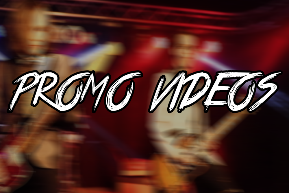 A promo video to represent what is expected from your performance or what you have to offer. -