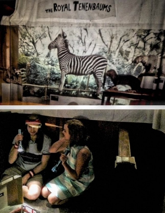 Photo: First Light Image; Projection Artist: Lindsay Sant, Wes Fest 2013.