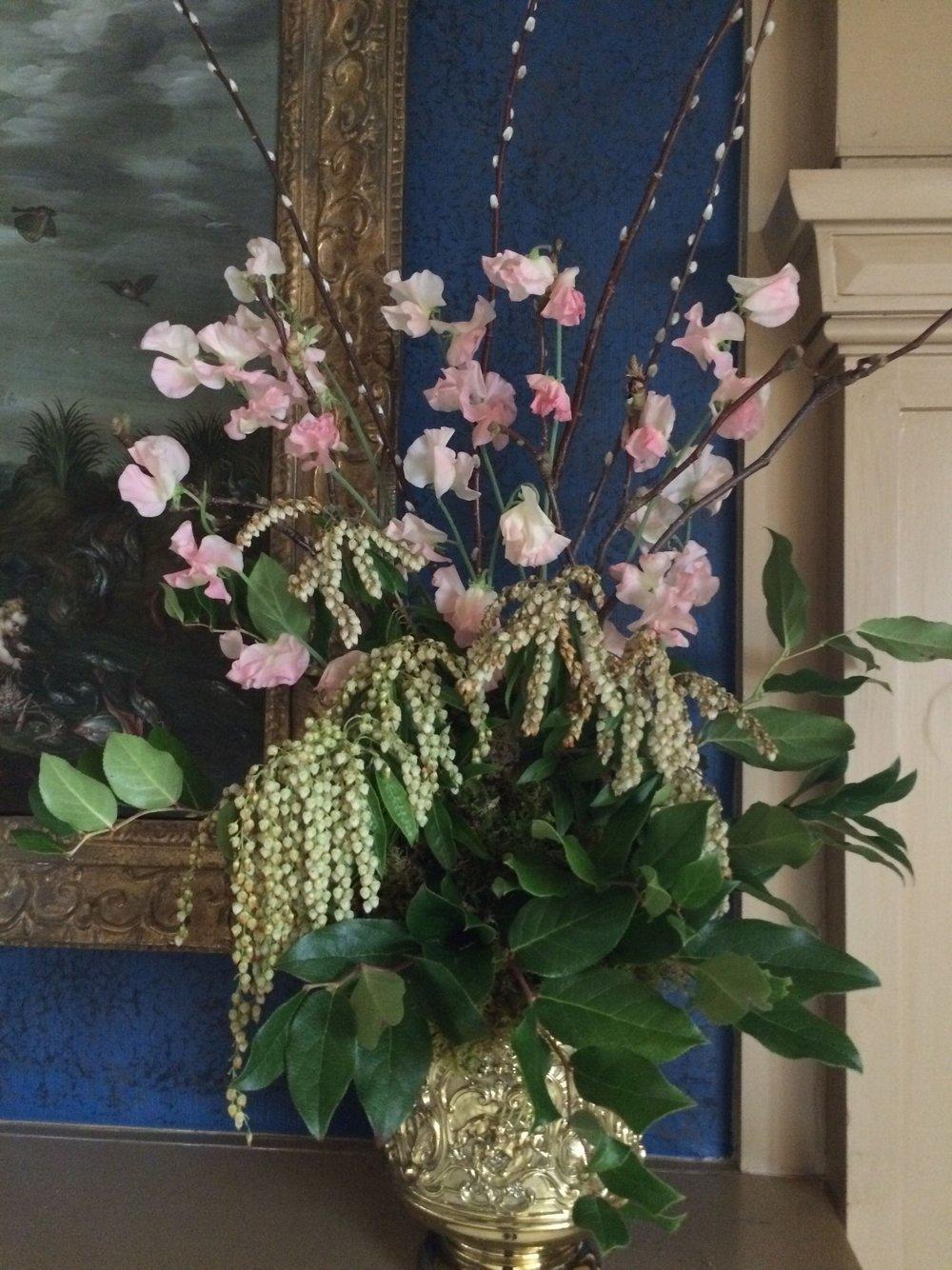 Royals Flowers Mantle.jpg