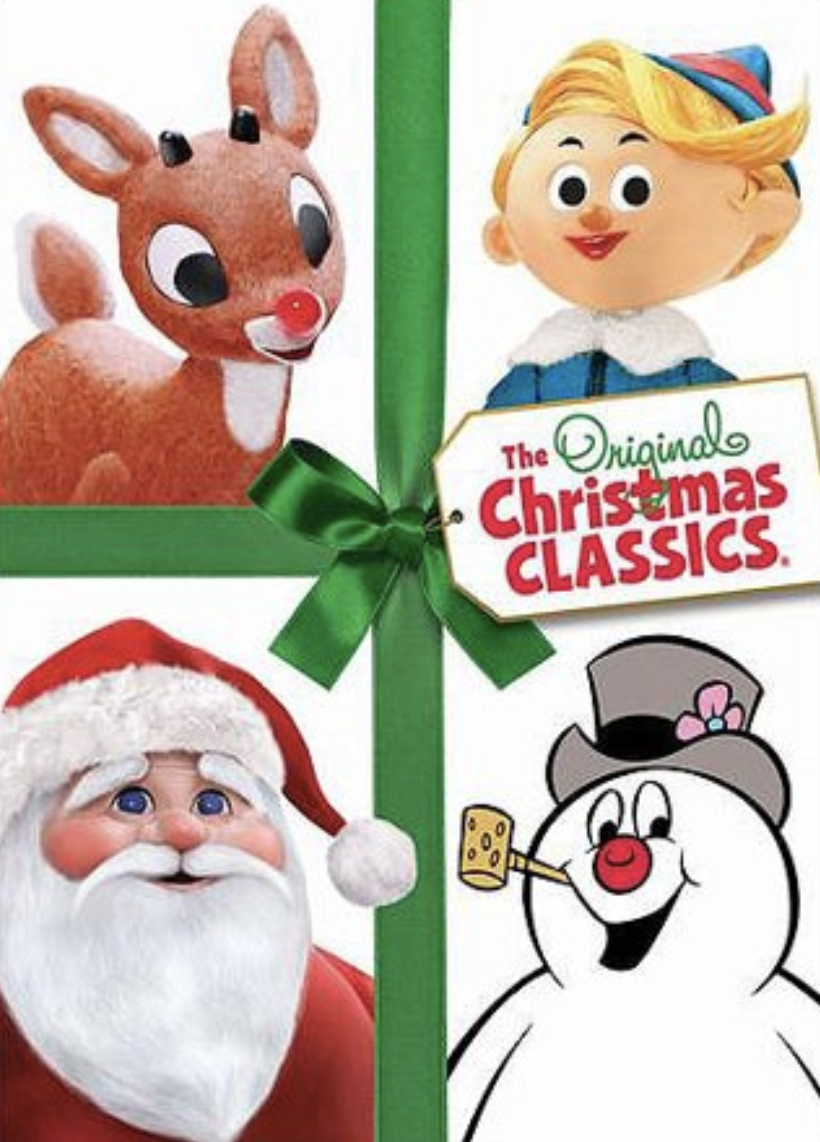 Number 5: - The Christmas classics: Frosty the Snowman, Rudolph the Rednosed Reindeer
