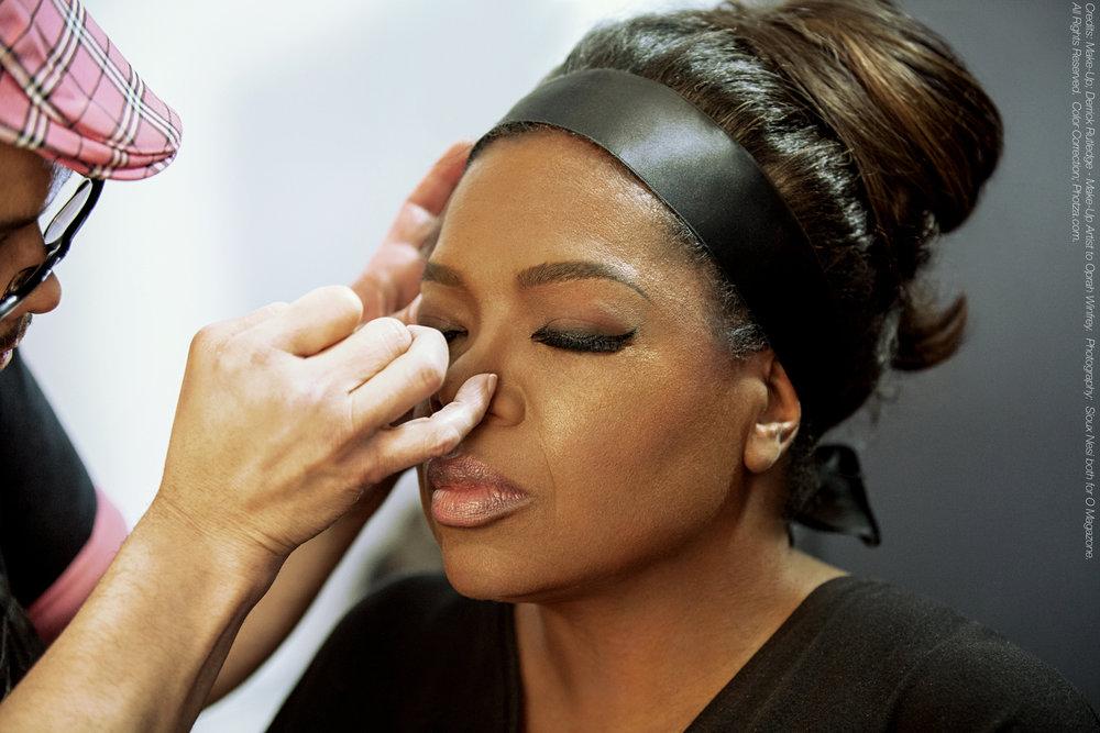 Oprah Winfrey photographed by Sioux Nesi