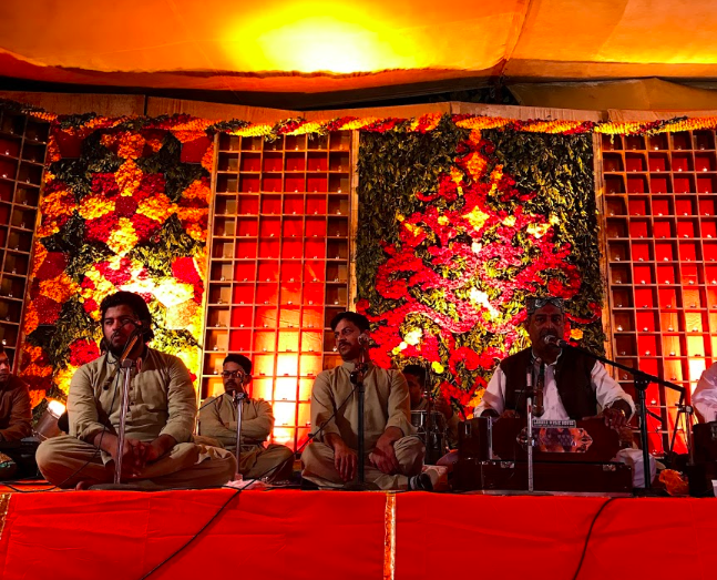 A Traditional Qawwali - This is not what's happening this evening, but a cool indication of what's possible.