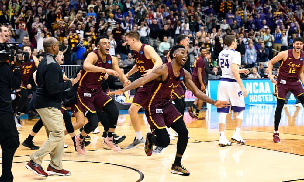 Loyola Chicago's Final Four run: how an underdog restored a city's basketball glory - A city once synonymous with basketball excellence has had little to cheer about in the two decades since Michael Jordan left town, but the Ramblers' Cinderella run to the Final Four has changed that.The GuardianMarch 30, 2018