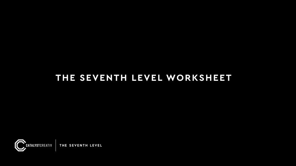 The Seventh Level Worksheet