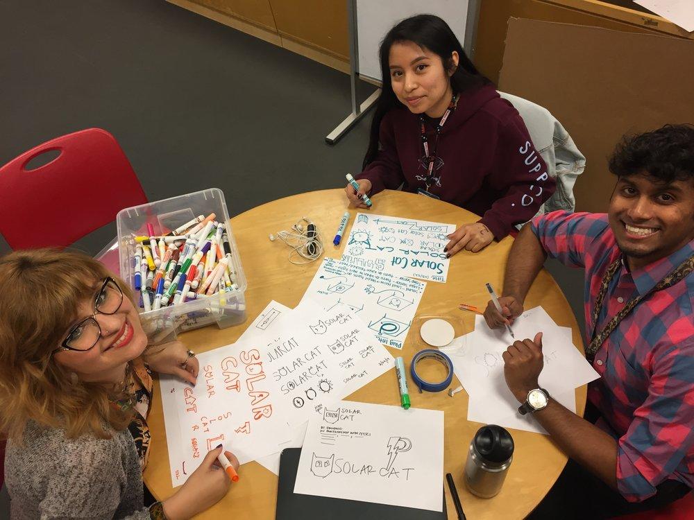 NYSCI Explainers: Sophia Madonia, Estefany Gomez, & Kristian Roopnarine