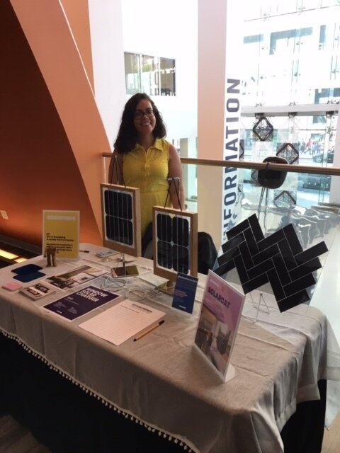 Grouphug designer, Luz Cabrera, at the NYCML Summit