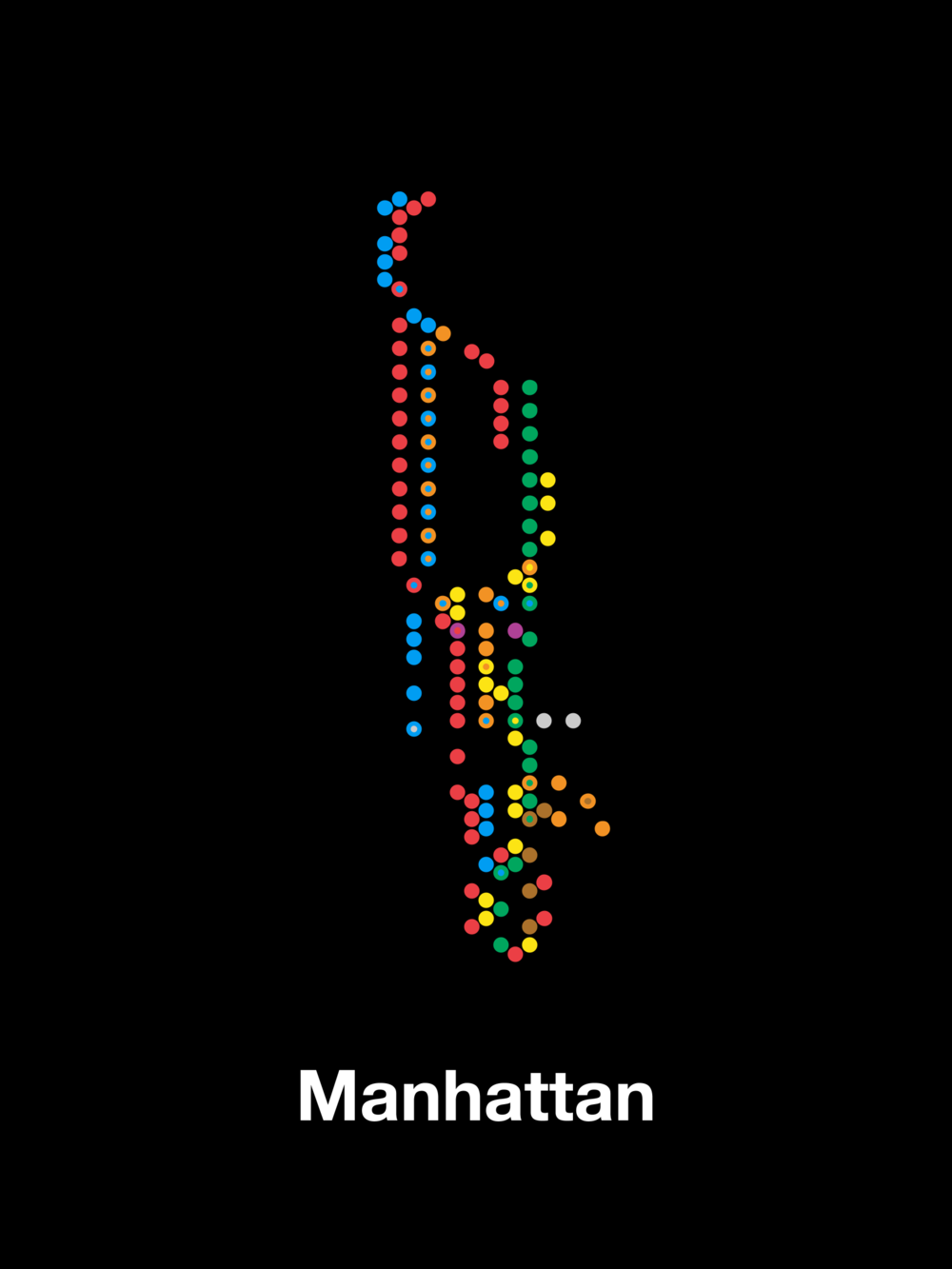 Manhattan subway stations