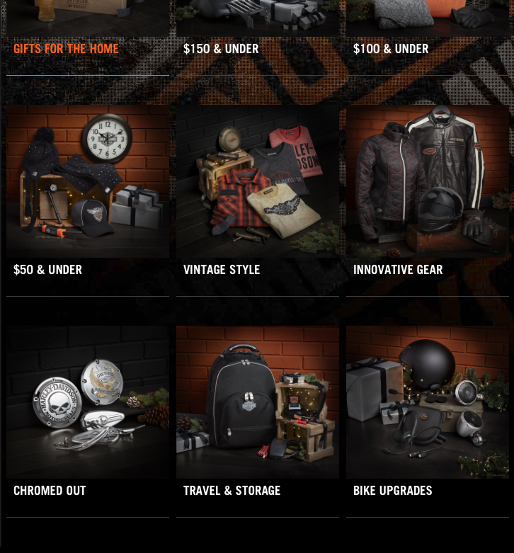 - HARLEY DAVIDSON - HOLIDAY PROMOTIONS 2017