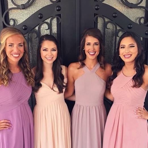 Had the blessing of doing all of these beauties hair and makeup for their best friends wedding! 💕 they were so sweet and inspiring to follow Christ more and more! . . . . #theblessedbride #theblessedbridemua #hair #makeup #bridalmakeup #bridalhair #bridesmaids #dfwhairstylist #dfwmua #dfwweddings #weddinghair #weddingmakeup #mua #naturalmakeup