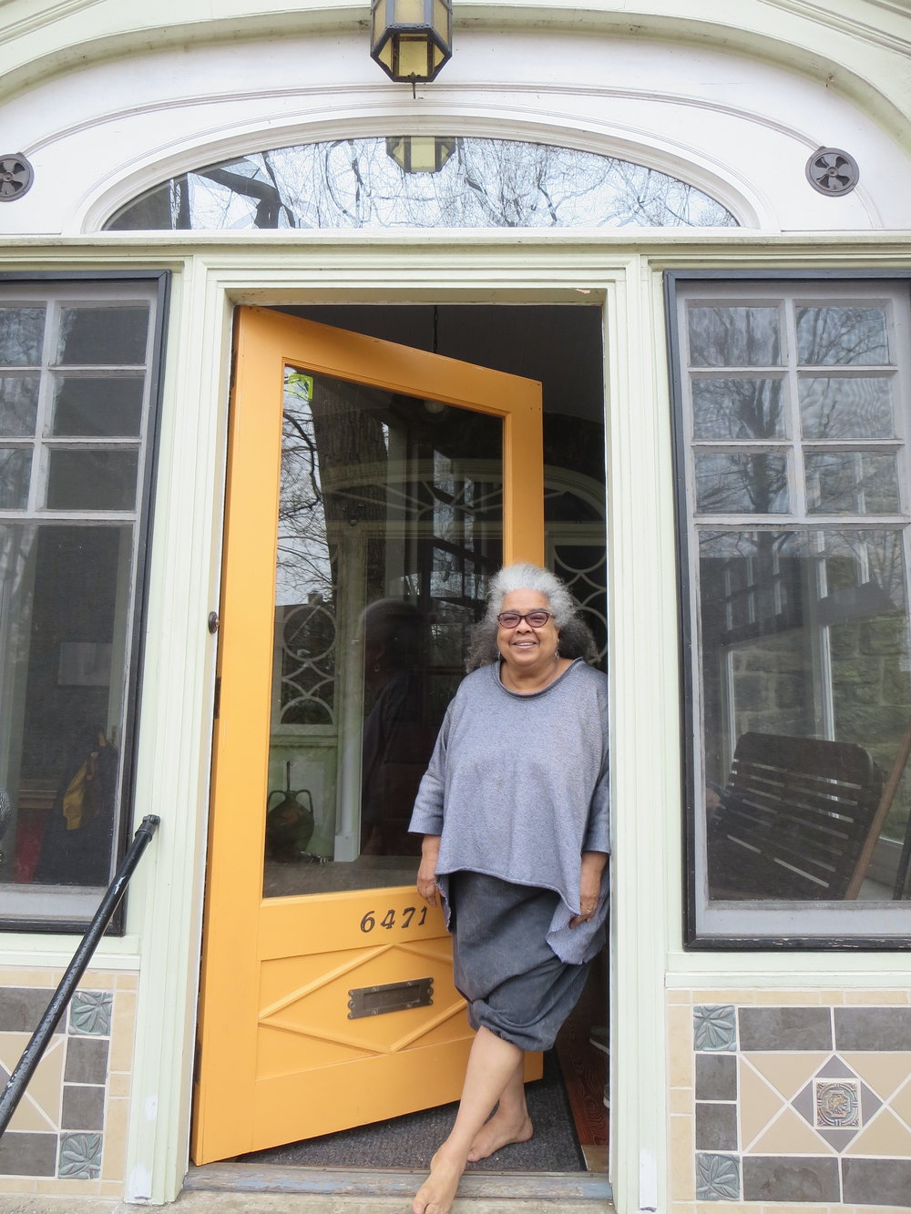 Vernyce Dannells at her home in Philadelphia, 2018.