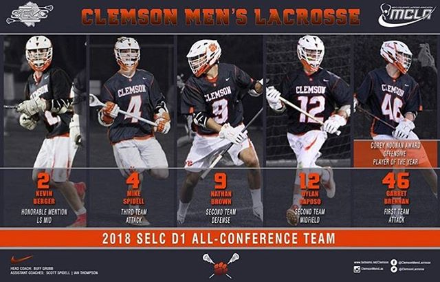 Congrats to these guys for being named to the SELC All Conference teams.