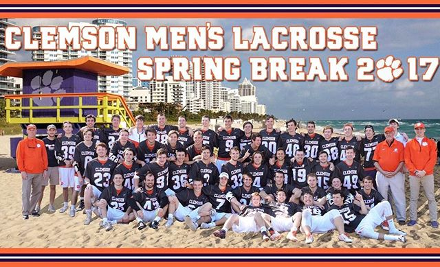 After a week off for spring break, the tigers are ready to detox on the practice field #haterswillsayitsphotoshop