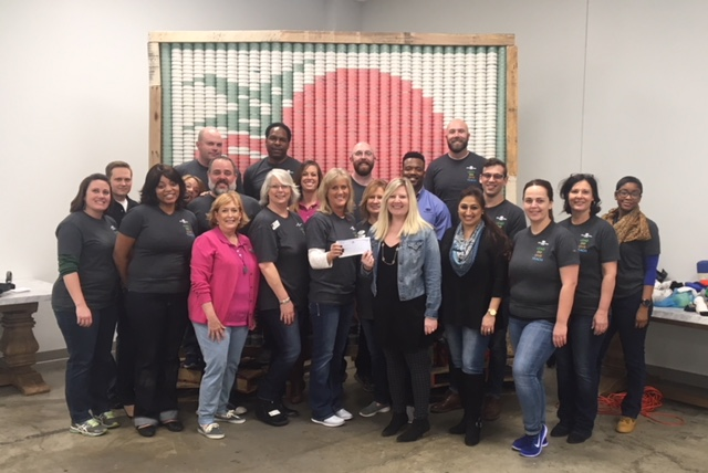 Great Southern Bank team partnering with Operation Food Search