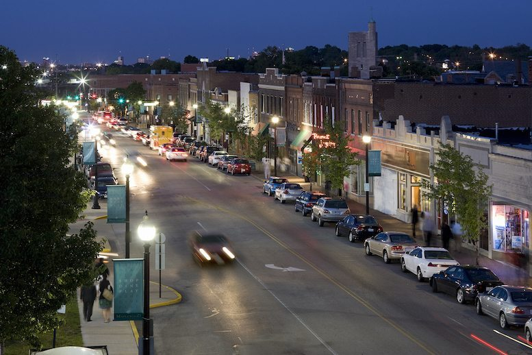 Downtown Maplewood -