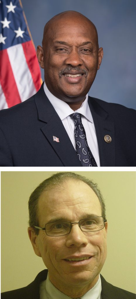 Rep. Dwight Evans (above) and Paul Brophy