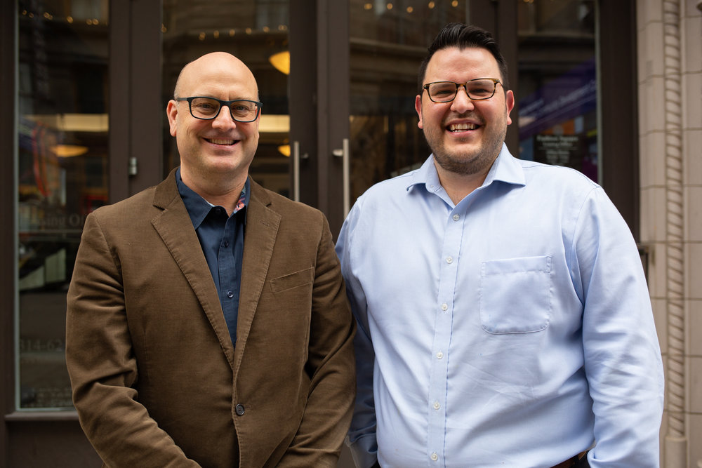 Darren Van't Hof (left) and David Desai-Ramirez