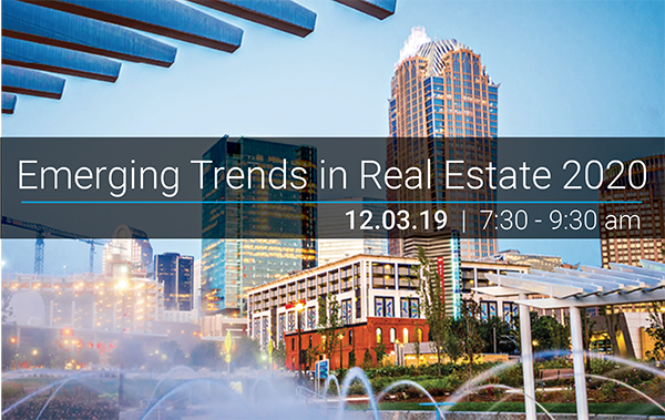 Emerging Trends In Real Estate 2020.Uli St Louis Presents Emerging Trends In Real Estate 2020