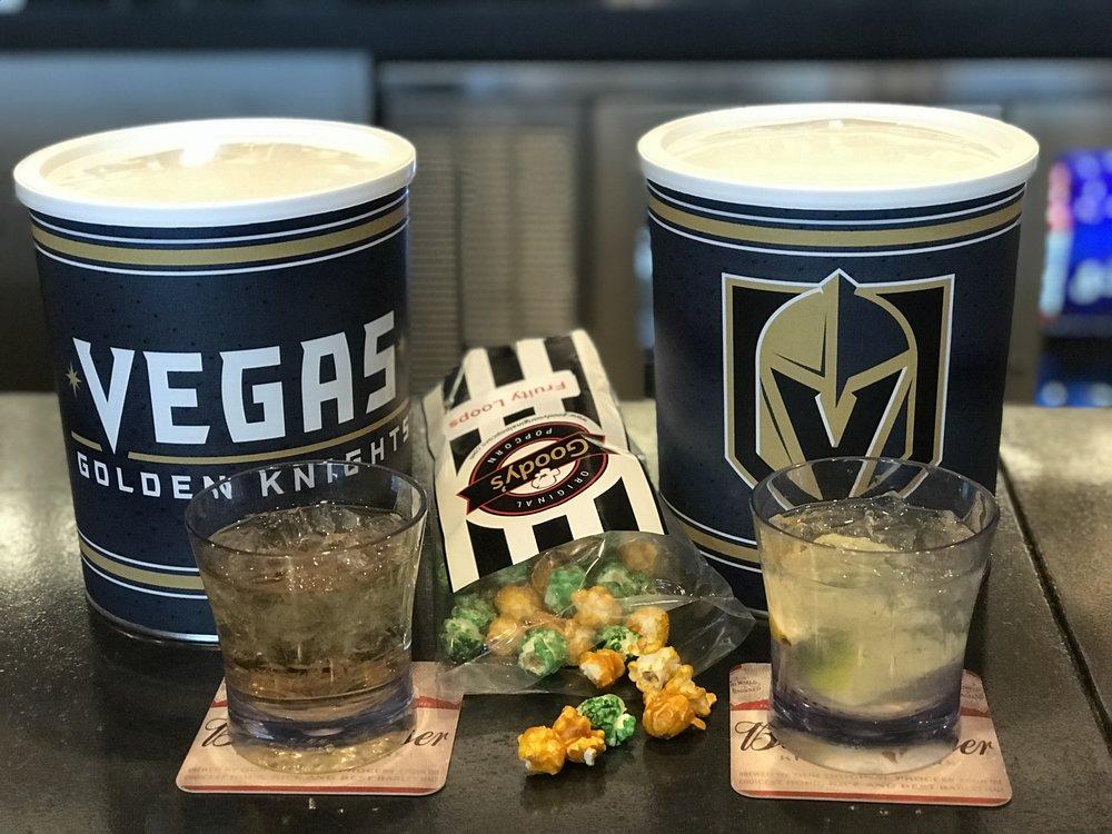Vegas Golden Knights Popcorn Tins