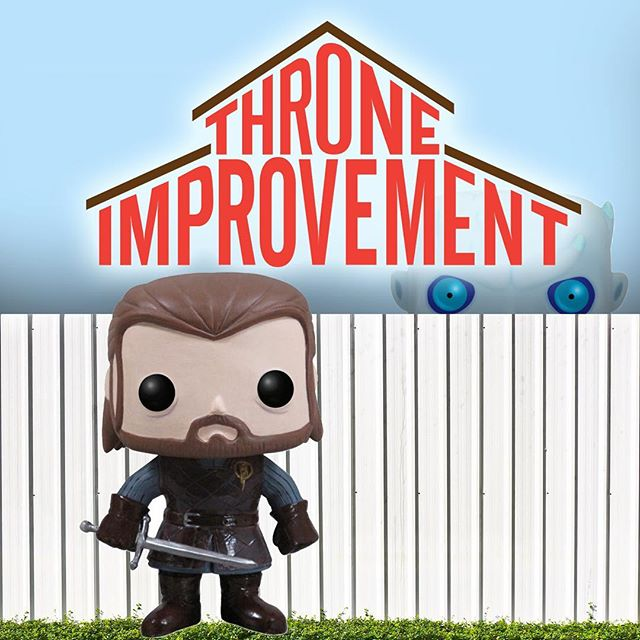 Wonder if this neighbour has any advice.  #gameofshows #gameofthrones #funkopop #funko  #stopmotion #funny #hodor #laugh #toys #jonsnow #meme #mashup #tv #toyphotography #toyphoto #toy #homeimprovement #hodor #wilson @gameofhilarious @funko_popvinyl @gameoflaugh