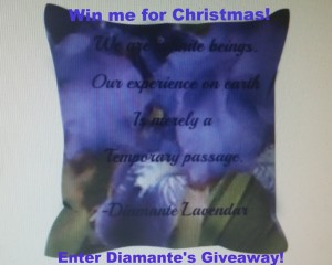 Christmas Giveaway by Diamante
